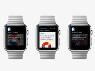 Designing in the dark: creating the Guardian App for Apple Watch